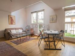 双层公寓 巴黎13区 - 客厅
