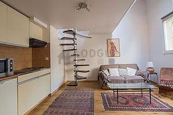 Duplex Paris 13° - Living room