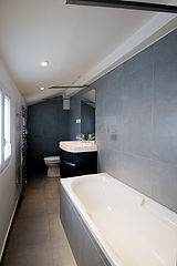 Duplex Paris 5° - Bathroom