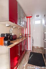 アパルトマン パリ 1区 - キッチン