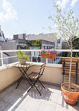 Wohnung Paris 17° - Terasse