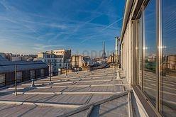 双层公寓 巴黎7区 - 客厅