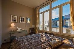 双层公寓 巴黎7区 - 卧室