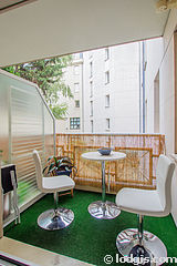 Appartamento Parigi 11° - Terrazzo