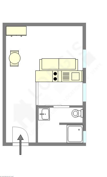 公寓 巴黎7区 - 互動圖