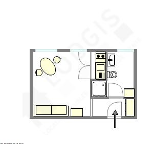 Apartamento París 4° - Plano interactivo