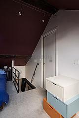 Duplex Paris 4° - Bedroom