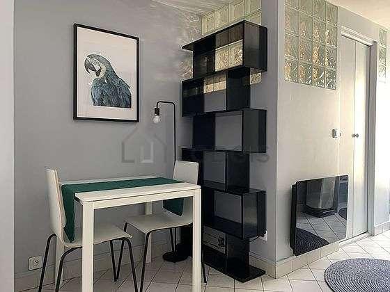 Quiet sitting room of an apartmentin Paris