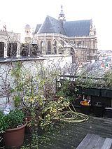 Triplex Paris 1° - Terasse