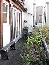 tríplex París 1° - Terraza