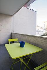 Apartment Paris 19° - Terrace