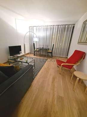 Quiet living room furnished with 1 sofabed(s) of 80cm, 1 sofabed(s) of 140cm, tv, 1 armchair(s)