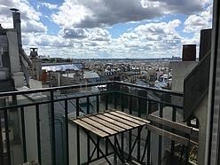 Appartamento Parigi 9° - Terrazzo