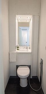 公寓 巴黎17区 - 厕所