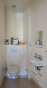 Wohnung Haut de seine Nord - WC