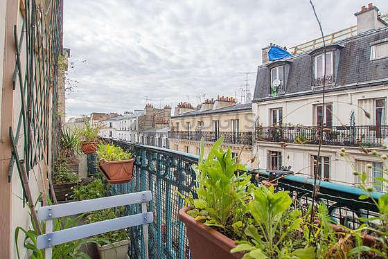 Very bright balcony