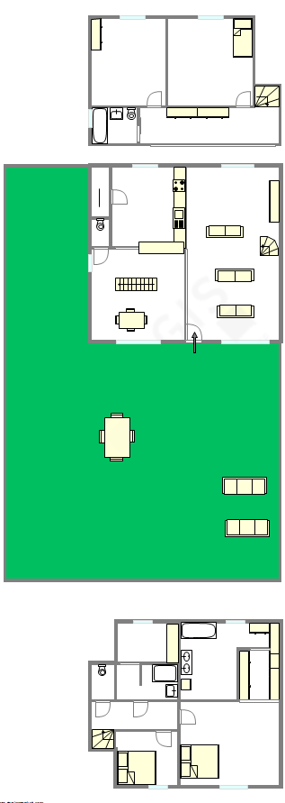 Casa Haut de seine Nord - Plano interativo