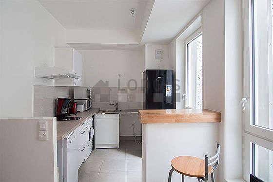 Beautiful kitchen of 6m² with tilefloor
