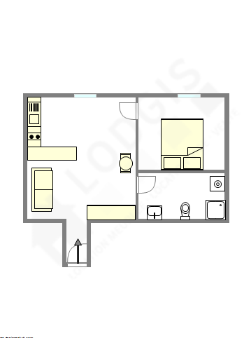 公寓 巴黎3区 - 互動圖