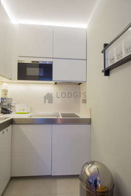 Great kitchen of 1m² with tilefloor