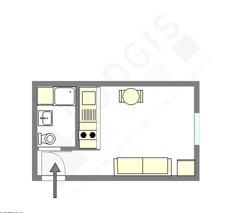 Appartamento Parigi 12° - Piantina interattiva