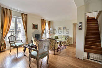 Monceau Paris 8° 2 bedroom Duplex