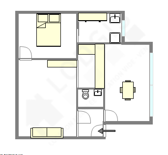 Apartment Val de marne sud - Interactive plan