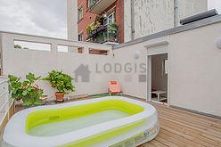 公寓 巴黎20区 - 陽台