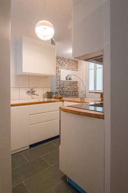 Great kitchen with a slatefloor