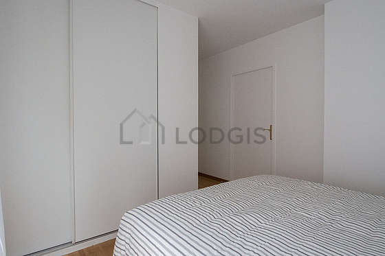 Bedroom equipped with wardrobe, cupboard, bedside table