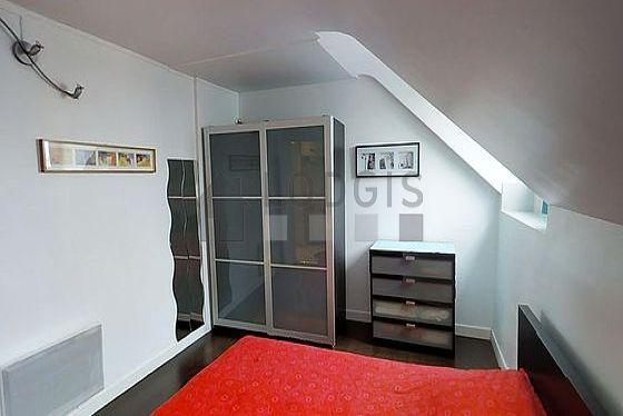 Very bright bedroom