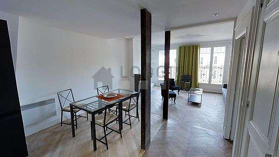 Very quiet living room furnished with 1 sofabed(s) of 160cm, tv, 2 armchair(s)