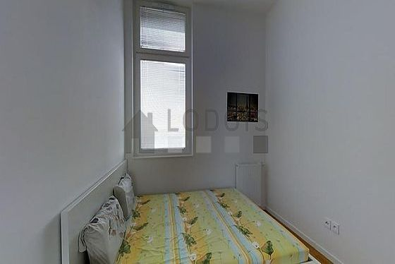 Bedroom facing the courtyard