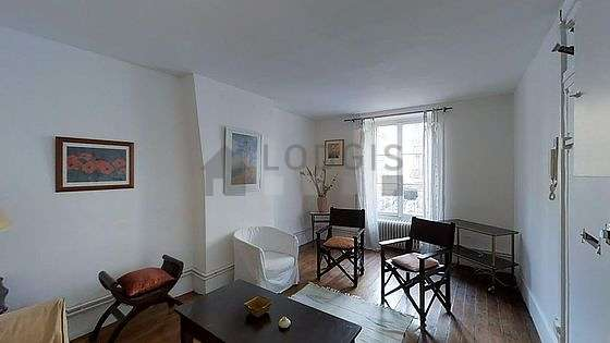 Very quiet living room furnished with 1 sofabed(s) of 140cm, sofa, 1 armchair(s)