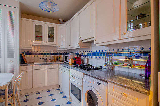 Great kitchen of 11m² with tilefloor