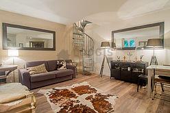 Duplex Paris 15° - Living room