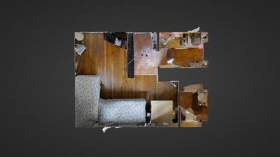 公寓 巴黎13区 - 平面图