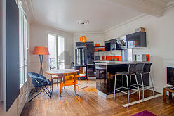 Apartamento París 15° - Salón