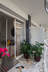 公寓 巴黎16区 - 阳台