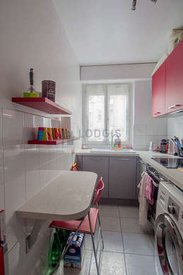 Great kitchen of 4m² with tilefloor