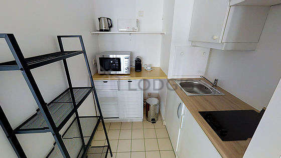 Great kitchen of 3m² with tilefloor