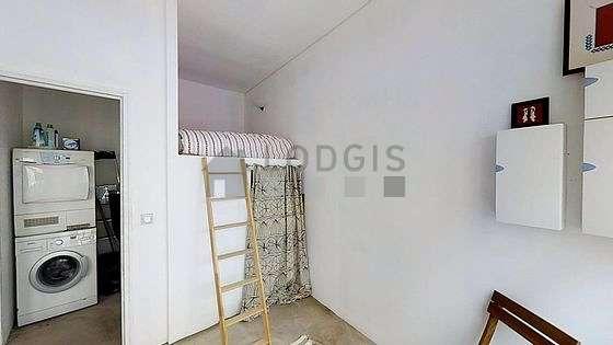 Bedroom with double-glazed windows
