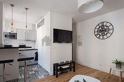 Wohnung Haut de seine Nord - Wohnzimmer