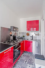 公寓 巴黎1区 - 廚房