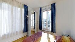 アパルトマン パリ 14区 - ベッドルーム
