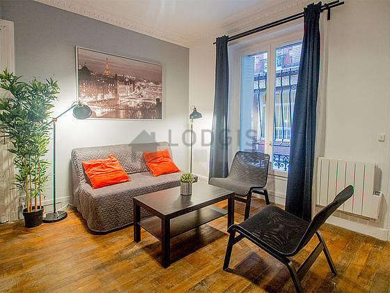 Very quiet living room furnished with 1 sofabed(s) of 140cm, tv, 2 armchair(s)