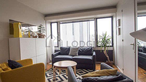 Séjour calme équipé de 1 canapé(s) lit(s) de 140cm, air conditionné, télé, 2 fauteuil(s)