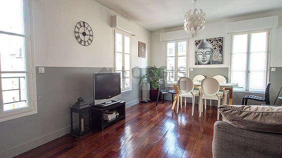 Magnifique séjour très lumineux d'un appartementà Paris