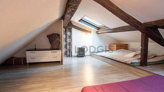 Chambre très calme pour 4 personnes équipée de 2 matelas de 140cm