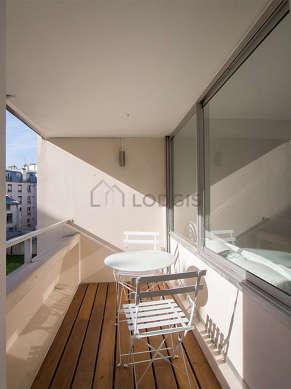 Balcony facing due south-east